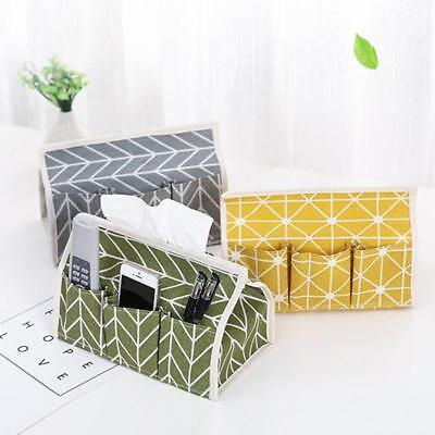 Simple Design Tissue Box Paper Napkin Holder Dispenser Cover Storage Cases LH