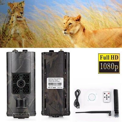 HC700G 3G GSM SMS 16.0MP 1080P Night Vision Trail Hunting Camera Scouting