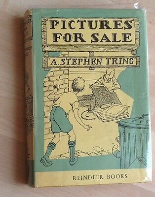 Pictures For Sale. A. Stephen Tring. Illustrated By Christoher Brookes
