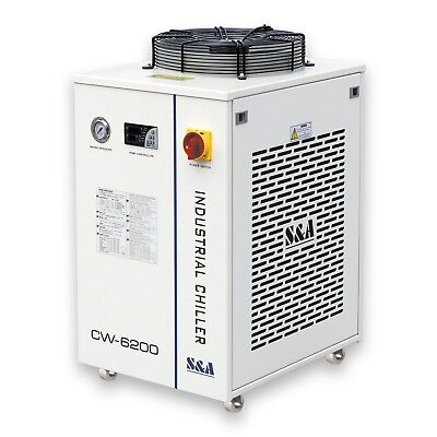 S&A 2.24HP, AC220V 60Hz CW-6200BN Industrial Water Chiller for 600W CO2 Laser