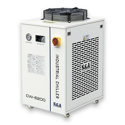 S&A CW-6200BN Industrial Water Chiller for 600W CO2 Laser 2.24HP AC220V