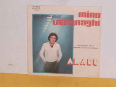 "Single 7"" - Mino Vergnaghi - Amare"