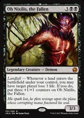 1x OB NIXILIS, THE FALLEN - Rare - Iconic Master MTG - NM - Magic the Gathering