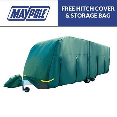 Maypole 4 Ply Breathable Water Resistant Caravan Cover 23 – 25 ft (6.8m – 7.4m)