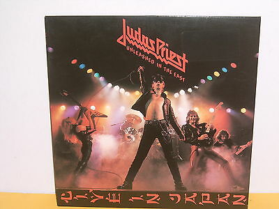 Lp - Judas Priest - Unleashed In The East