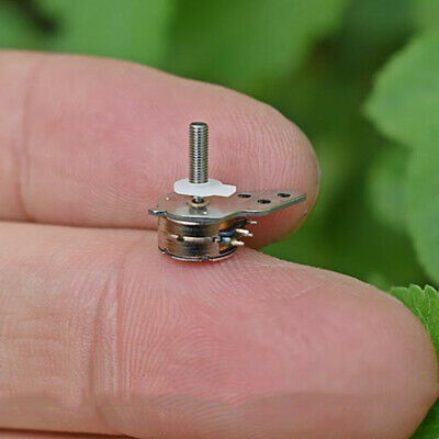 Micro 10mm Stepping Motor 2-Phase 4-Wire Stepper Motor Linear Screw Block Slider