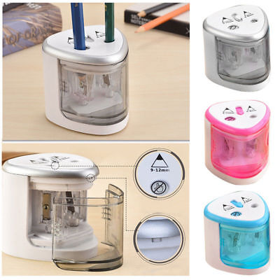 1*Automatic Electric Pencil Sharpener Touch Switch Home School Office Stationery