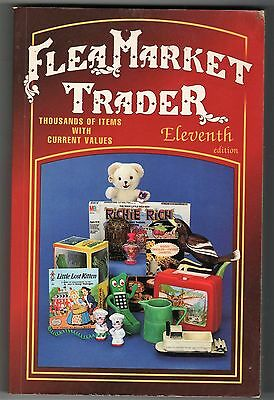 Flea Market Trader 1997 11th Edition Softcover Thousands of Items & Values