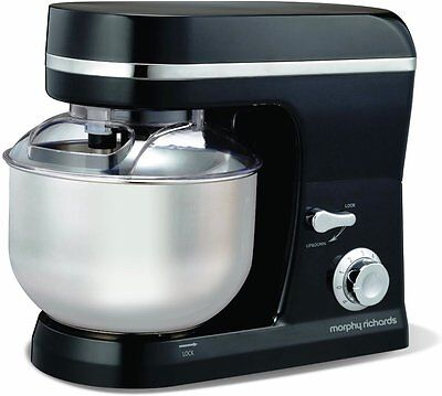 Morphy Richards Accents Stand Kitchen Mixer 5L Bowl Home Cake Cookies Maker Food