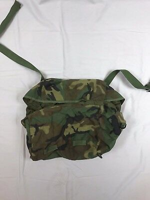 FREE SHIPPING New US Army Military Woodland Camo Carrier Bag Sleep System Molle