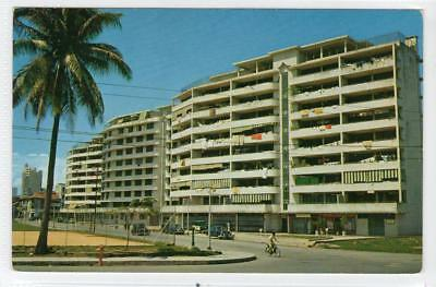 SINGAPORE IMROVEMENT TRUST OFFICE & FLATS: Singapore postcard (C31418)