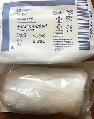 "Covidien Kerlix Roll 4"" X 4 1/8""-lot of 20"