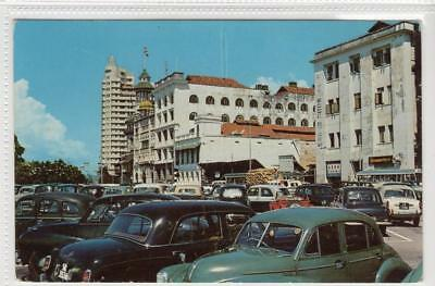 COLLYER QUAY: Singapore postcard (C31423)