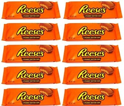 10x Hershey's Reeses Reese's Peanut Butter Cups Large (51g p.P.) 30 Cups