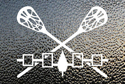 Iroquois lacrosse Decal