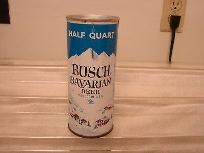 (16) Oz. Zip Tab Busch Bavarian Beer Can Anheuser-Busch St. Louis - Newark -Tamp