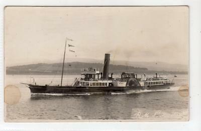 "R.M.S. ""FUSILIER"": Clyde Steamer postcard (C31497)"