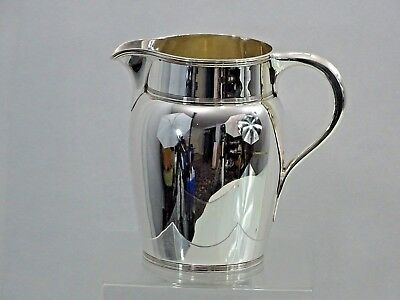 MAGNIFICENT TIFFANY STERLING SILVER WATER PITCHER ART DECO 1907 - 1938   modern