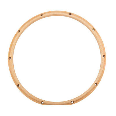 "Gibraltar SC1410WTT 10-Lug 14"" Wood Replacement Snare Drum Hoop - Batter Side"