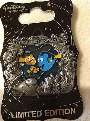 Disney D23 WDI EXCLUSIVE FINDING NEMO DORY Stained Glass Pin LE 300