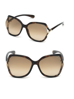 ff5ed1deea Tom Ford Anouk-02 TF578 52F Sunglasses Havana Brown Frame Brown Lenses 60mm