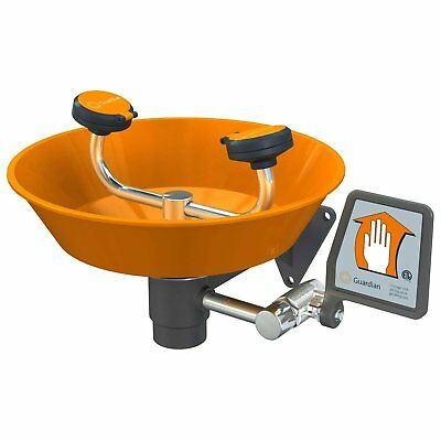 Guardian G1750P Eye/Face Wash Station, Plastic Bowl