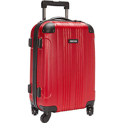 """Kenneth Cole Reaction Out Of Bounds 20"""" Hardside Spinner Luggage - Red"""