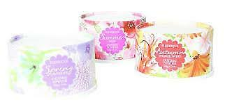 Fleurique Autumn Wildflowers Dusting Powder with flocked puff, 100g, pure luxury