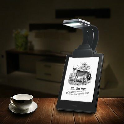 Portable Flexible LED Travel Reading Light Adjustable Brightness Rechargeable