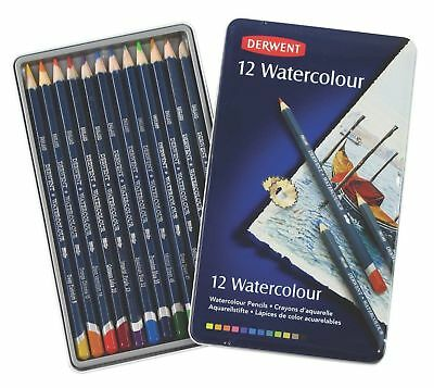 DERWENT Watercolour Pencils 12 Pack - R32881 *Free Shipping*