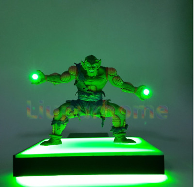 RARE Dragon Ball Z PiCCOLO Power Up Led Light Lamp Action Figure Whole Set