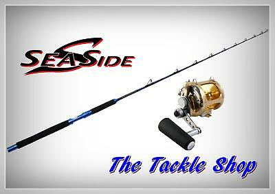 "5'6"" Big Game Combo - Legion 2Spd Alloy GTR16 Reel + 45KG SeaSide JGC5680 Rod"