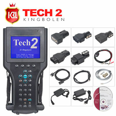 TECH2 Diagnostic Scanner Tool Full Set fit for GM/SAAB/OPEL/SUZUKI/ISUZU/HOLDEN