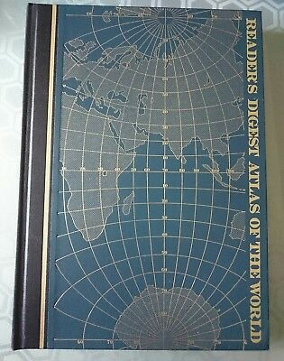 Reader's Digest Atlas of the World, Reader's Digest Association Hardback Book