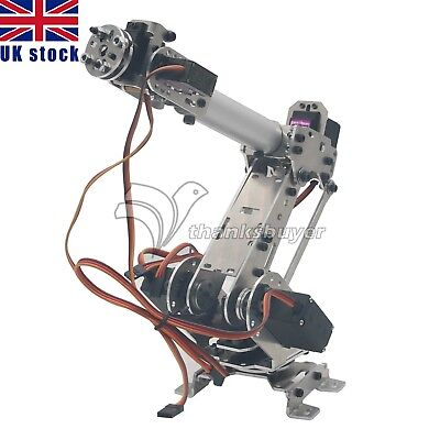 ABB Model 6DoF Robot Arm Manipulator with Servo 4Pcs MG996R 2Ps MG90S UK Ship