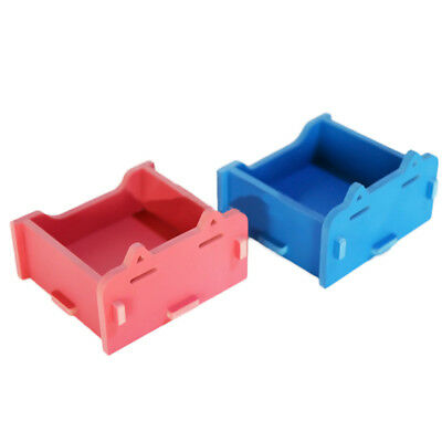 Pet Double Feeder Bowls Dog Cat Puppy Double Bowls Food Feeder Waterer Dish JE