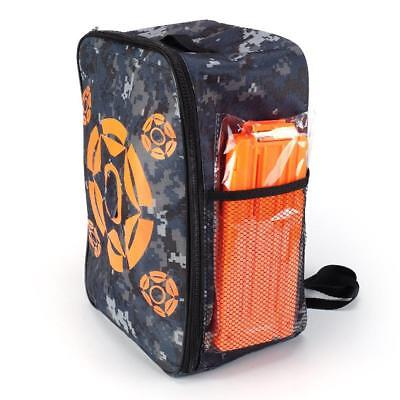 New Target Pouch Bullet Storage Pack Bag Tactical Backpack Case For Nerf Kid Toy