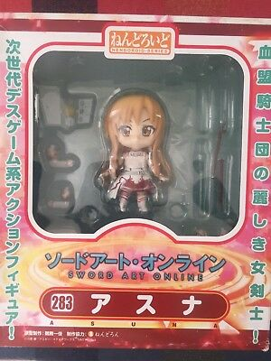 【Sword Art Online】ASUNA Face and Arms Changeable Cute Version Figure #283