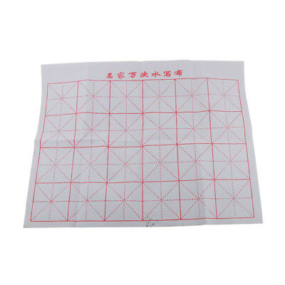 Chinese Calligraphy Kanji Writing Grid Magic Water Cloth Writing Accessory