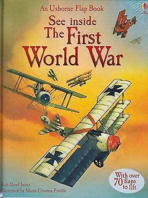 See Inside the First World War by Rob LLoyd Jones BRAND NEW BOOK (H/B 2013)