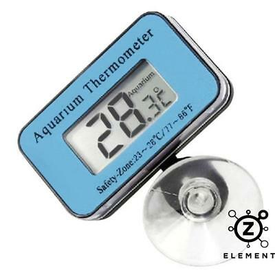 Digital LCD Waterproof Fish Aquarium Water Tank Temperature Thermometer Meter EU