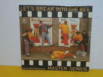 "Single 7"" - Master Genius - Let's Break Into The 80'S"