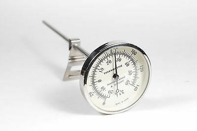Quality F&C Thermometer 0 - 140 degrees  stem photography utility Made in Japan