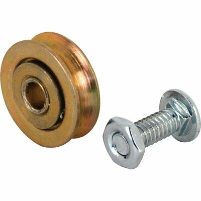Slide-Co 1328 Sliding Door Roller with 1-Inch Steel Ball Bearing and 1/4-Inch