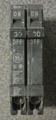 General Electric GE THQP230 2 pole 30 amp Plug in THQP 120/240v Circuit Breaker