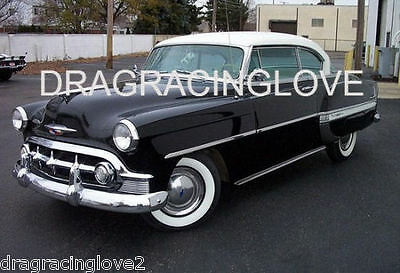 1953 Chevy BelAir Vintage Classic American Car PHOTO!