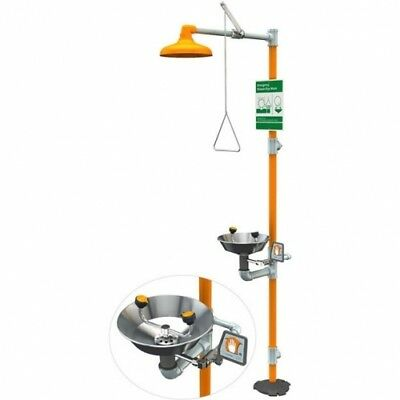 Guardian G1902 Safety Station with Eyewash, Stainless Steel Bowl