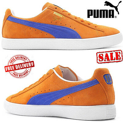 1724ccb0f38ddd PUMA Clyde NYC Walter Frazier Basket Classic Suede Unisex Trainers Retro  Shoes