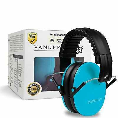 Ear Defenders Kids Toddlers Children Babies Autism Hearing Protection Noise Blue