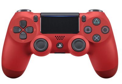 Sony PS4 PRO Wireless controller DUALSHOCK 4 Magma Red CUH-ZCT2J11 Japan